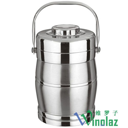 Silver drum insulation mention pot