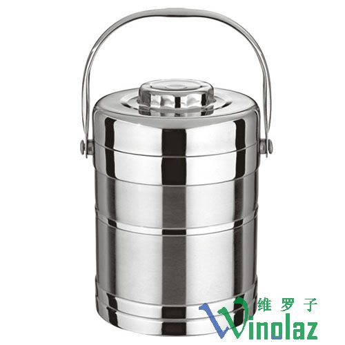 Silver and insulation mention pot