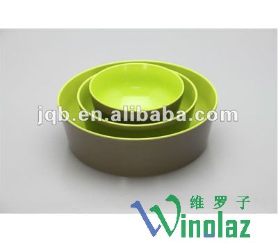 Color soup bowl